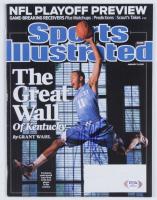 John Wall Signed 2010 Sports Illustrated Magazine (PSA COA) at PristineAuction.com