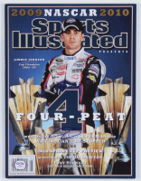 Jimmie Johnson Signed 2009 Sports Illustrated Magazine (PSA COA) at PristineAuction.com