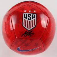 Alyssa Naeher Signed Team USA Soccer Ball (JSA COA) at PristineAuction.com
