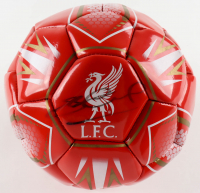 Steven Gerrard Signed Liverpool F.C. Logo Soccer Ball (Beckett COA) (See Description) at PristineAuction.com