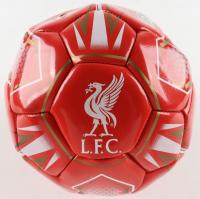 Steven Gerrard Signed Liverpool F.C. Logo Soccer Ball (Beckett COA) (See Description) at PristineAuction.com