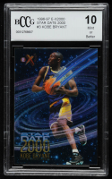 Kobe Bryant 1996-97 E-X2000 Star Date 2000 #3 (BCCG 10) at PristineAuction.com