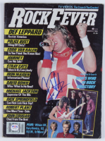 Joe Elliott Signed 1954 Rock Fever Magazine (PSA COA) at PristineAuction.com