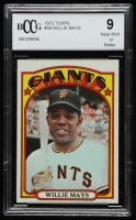 Willie Mays 1972 Topps #49 (BCCG 9) at PristineAuction.com