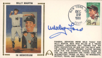 Whitey Ford Signed 1989 FDC Envelope (Beckett COA) at PristineAuction.com