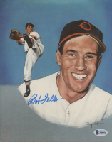 Bob Feller Signed Indians 8x10 Photo (Beckett COA) at PristineAuction.com