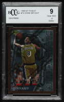 Kobe Bryant 1996-97 Finest #74 B RC (BCCG 9) at PristineAuction.com