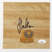 Steve Kerr Signed Warriors 6x6 Floor Piece (JSA COA) at PristineAuction.com