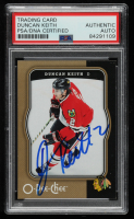 Duncan Keith Signed 2007-08 O-Pee-Chee #103 (PSA Encapsulated) at PristineAuction.com