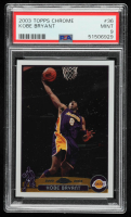 Kobe Bryant 2003-04 Topps Chrome #36 (PSA 9) at PristineAuction.com