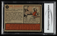 Roberto Clemente 1962 Topps #10 (BCCG 8) at PristineAuction.com