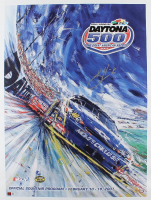 Kevin Harvick Signed NASCAR 2007 Daytona 500 Program Cover 22x30 Photo on Canvas (PA COA) at PristineAuction.com