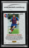 Lionel Messi 2004-05 Panini Barca Campeon Spanish #89 (BCCG 10) at PristineAuction.com