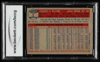 Ted Williams 1957 Topps #1 (BCCG 7) at PristineAuction.com