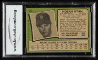 Nolan Ryan 1971 Topps #513 (BCCG 8) at PristineAuction.com