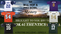 OKAUTHENTICS NFL MVP, HOF, & PRO BOWL Jersey Mystery Box Series II at PristineAuction.com