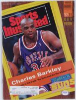 Charles Barkley Signed 1992 Sports Illustrated Magazine (PSA COA) at PristineAuction.com