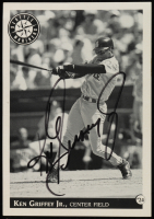 Ken Griffey Jr. Signed 3.5x5 Photo (Beckett COA) at PristineAuction.com