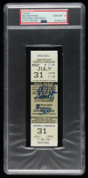"Nolan Ryan Signed 1990 Brewers Original 300 Win Game Ticket Inscribed ""#300"" (PSA Encapsulated) at PristineAuction.com"