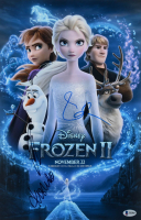 "Kristen Bell, Idina Menzel & Josh Gad Signed ""Frozen II"" 11x17 Photo (Beckett LOA) at PristineAuction.com"