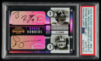 Ben Roethlisberger / J.P. Losman 2004 Playoff Contenders Round Numbers Autographs #RN2 (PSA Authentic) at PristineAuction.com