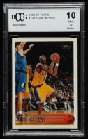 Kobe Bryant 1996-97 Topps #138 RC (BCCG 10) at PristineAuction.com