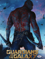 "Dave Bautista Signed ""Guardians of the Galaxy"" 11x14 Photo (PSA Hologram) at PristineAuction.com"
