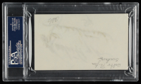 "Walter Payton Signed 3x5 Cut Inscribed ""Sweetness"" (PSA Encapsulated) at PristineAuction.com"