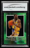 Kobe Bryant 1996-97 E-X2000 #30 RC (BCCG 8) at PristineAuction.com