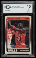 Michael Jordan 1988-89 Fleer #17 (BCCG 10) at PristineAuction.com