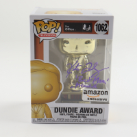 """Kate Flannery Signed """"The Office"""" #1062 Dundie Award Funko Pop! Vinyl Figure Inscribed """"Best Mom Meredith"""" (PSA COA) at PristineAuction.com"""