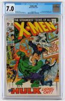 "1970 ""X-Men"" Issue #66 Marvel Comic Book (CGC 7.0) at PristineAuction.com"