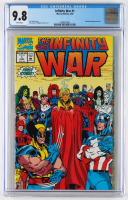"1992 ""The Infinity War"" Issue #1 Marvel Comic Book (CGC 9.8) at PristineAuction.com"