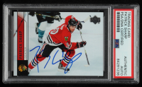 Patrick Sharp Signed 2006-07 Upper Deck #47 (PSA Encapsulated) at PristineAuction.com