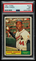 Hank Aaron 1961 Topps #415 (PSA 7) (MC) at PristineAuction.com