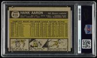 Hank Aaron 1961 Topps #415 (PSA 7) (MC) at PristineAuction.com