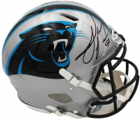 Julius Peppers Signed Panthers Full-Size Authentic On-Field Speed Helmet (Radtke COA) at PristineAuction.com