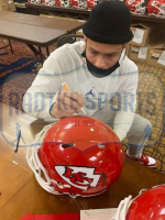Tyrann Mathieu Signed Chiefs Full-Size Authentic On-Field Speed Helmet (Radtke COA) at PristineAuction.com