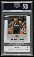 Zion Williamson 2019-20 Panini Player of the Day #51 (PSA 10) at PristineAuction.com