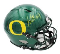 LeGarrette Blount Signed Oregon Ducks Full-Size Authentic On-Field Speed Helmet (Radtke COA) at PristineAuction.com