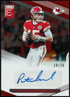 Patrick Mahomes II 2019 Donruss The Elite Series Autographs #23 at PristineAuction.com