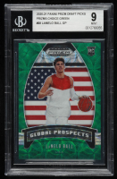 LaMelo Ball 2020-21 Panini Prizm Draft Picks Prizms Choice Green #98 GP (BGS 9) at PristineAuction.com