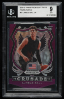 LaMelo Ball 2020-21 Panini Prizm Draft Picks Prizms Purple #83 CR (BGS 9) at PristineAuction.com