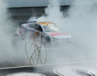 Dale Earnhardt Jr. Signed NASCAR 11x14 Photo (JSA COA) at PristineAuction.com