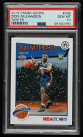 Zion Williamson 2019-20 Hoops Winter #296 (PSA 10) at PristineAuction.com