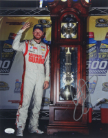 Dale Earnhardt Jr. Signed NASCAR 11x14 Photo (JSA COA) at PristineAuction.com