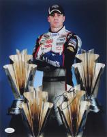 Jimmie Johnson Signed NASCAR 11x14 Photo (JSA COA) at PristineAuction.com
