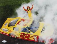 Kurt Busch Signed NASCAR 11x14 Photo (JSA COA) at PristineAuction.com