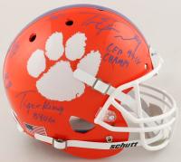 Travis Etienne Signed Clemson Tigers Full-Size Helmet with Multiple Inscriptions (JSA COA) at PristineAuction.com