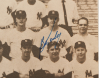 1961 Yankees 11x14 Photo Signed by (4) with Whitey Ford, Hector Lopez, Bob Turley, & John Blanchard (JSA ALOA) at PristineAuction.com